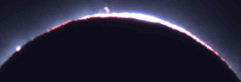 4K動画を非圧縮でリアルタイム記録 日食観測