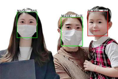 マスクを認識認証FaceDRAV