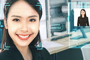 体温測定機能 顔認証