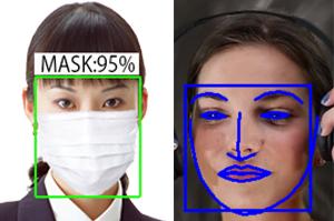 高精度の顔認証システム FaceDRAV
